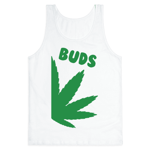 Best Buds Couples (Buds)  Tank Top