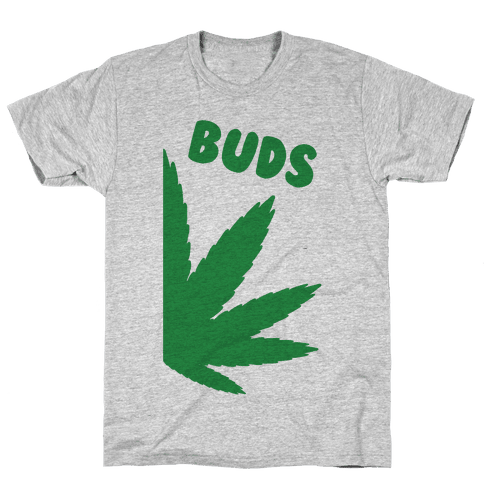 Best Buds Couples (Buds)  Mens T-Shirt