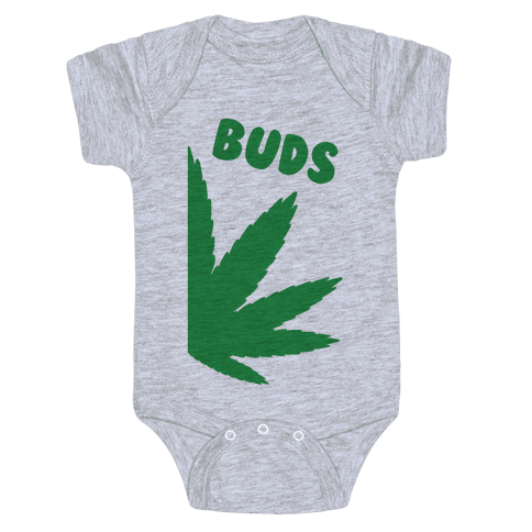 Best Buds Couples (Buds)  Baby Onesy