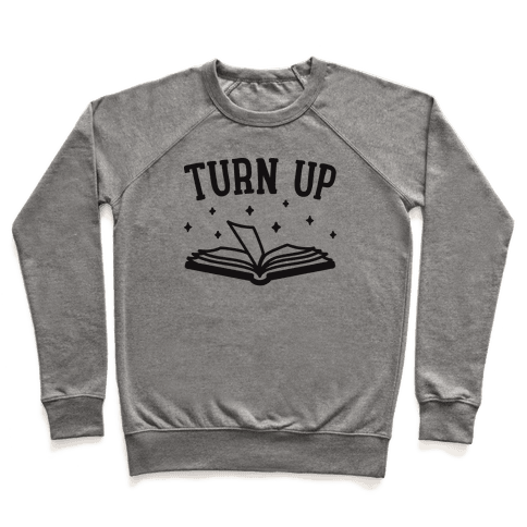 Turn Up Book Pullover