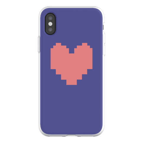 Undertale Pixel Heart Phone Flexi-Case