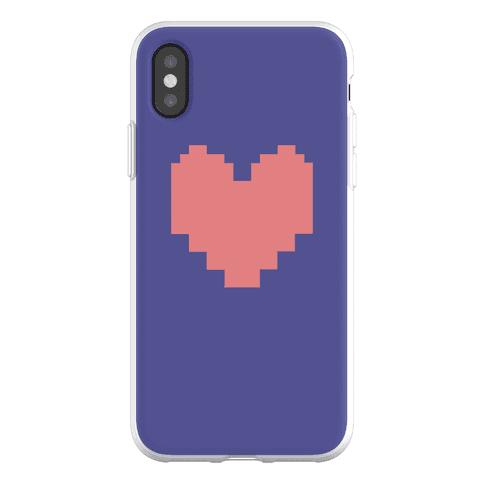 Undertale Pixel Heart Phone Flexi-Case