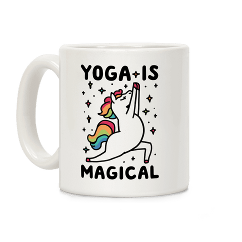 Yoga Is Magical Coffee Mug