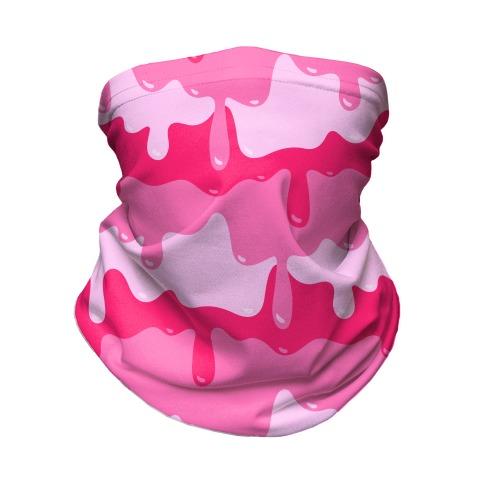 Pink Slime Neck Gaiter