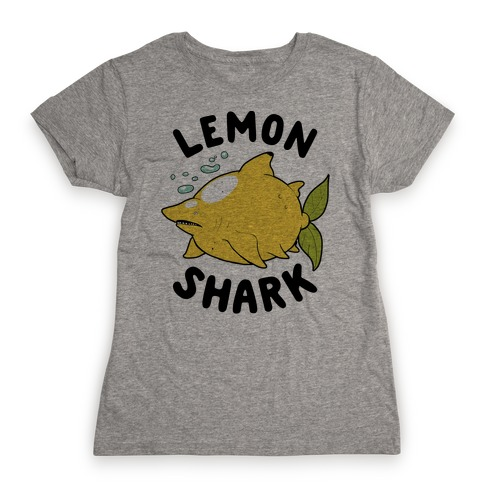 Lemon Shark Womens T-Shirt