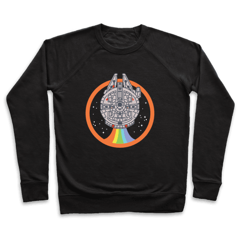 Retro Rainbow Falcon Pullover