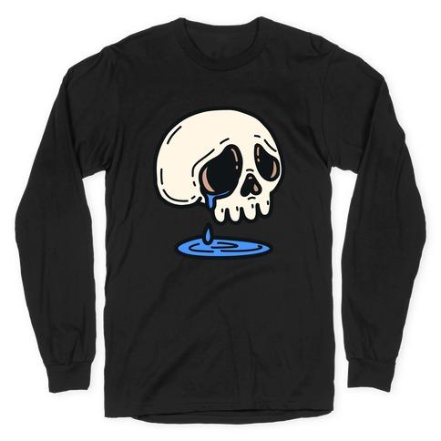Sensitive Skull Long Sleeve T-Shirt