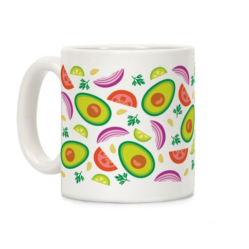 Guac Pattern Coffee Mug