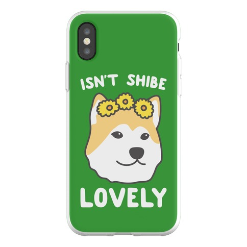 Isn't Shibe Lovely? Shiba Ibu Phone Flexi-Case