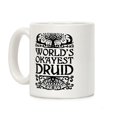 World's Okayest Druid Coffee Mug