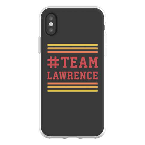 Team Lawrence Phone Flexi-Case