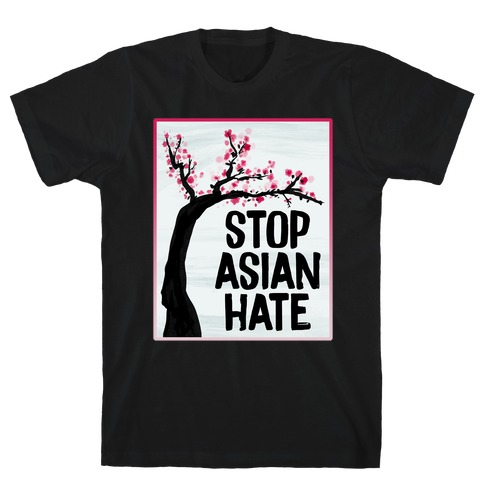 Stop Asian Hate Plum Blossoms T-Shirt
