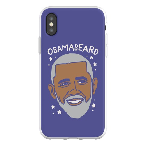 Obamabeard Phone Flexi-Case