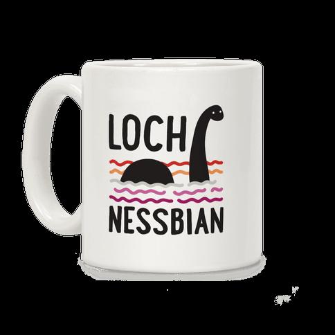 Loch Nessbian Lesbian Coffee Mug