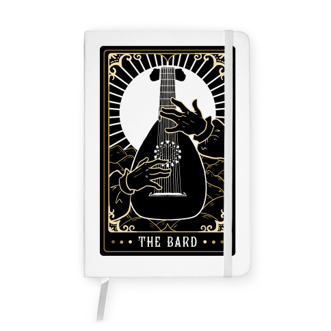 The Bard Tarot Card Notebook