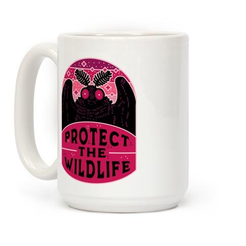 Protect the Wildlife (Mothman) Coffee Mug