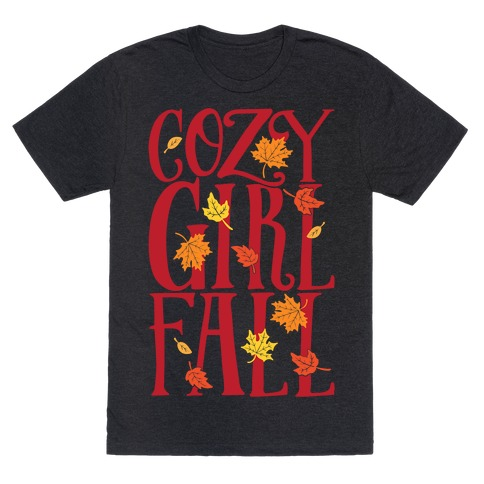Cozy Girl Fall T-Shirt