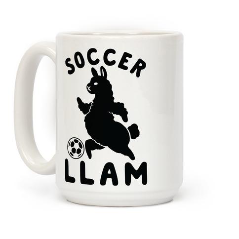 Soccer Llam Coffee Mug