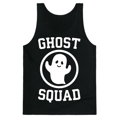 Ghost Squad (White) Tank Top