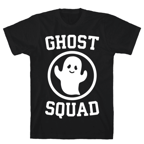 Ghost Squad (White) Mens T-Shirt