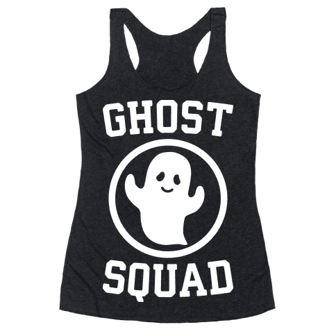 Ghost Squad (White) Racerback Tank Top