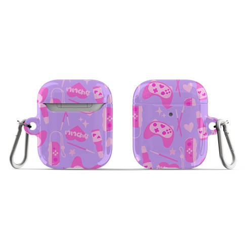 Kawaii Gamer Pattern AirPod Case