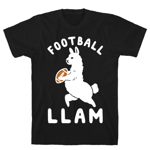 Football Llam Mens T-Shirt