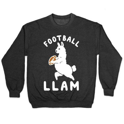 Football Llam Pullover