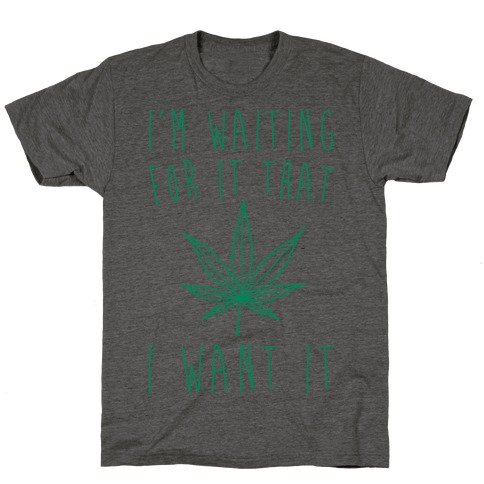 I'm Waiting For It That Green light I Want It Parody T-Shirt