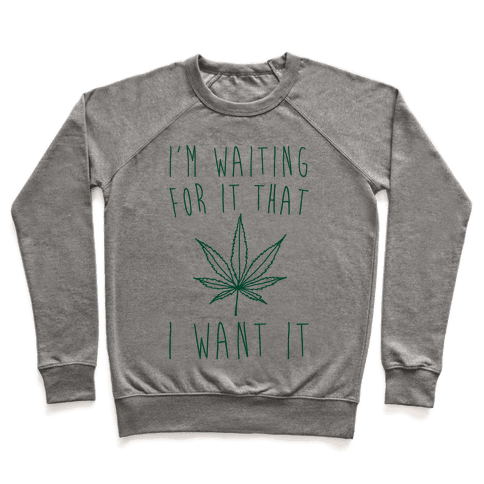 I'm Waiting For It That Green light I Want It Parody  Pullover