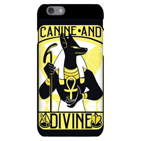Canine and Divine - Anubis Phone Case