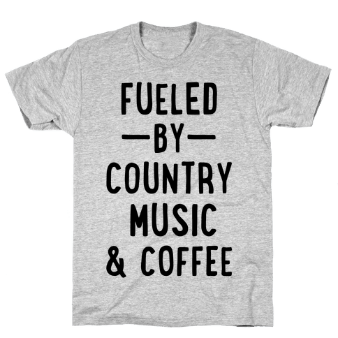 Fueled By Country Mens T-Shirt