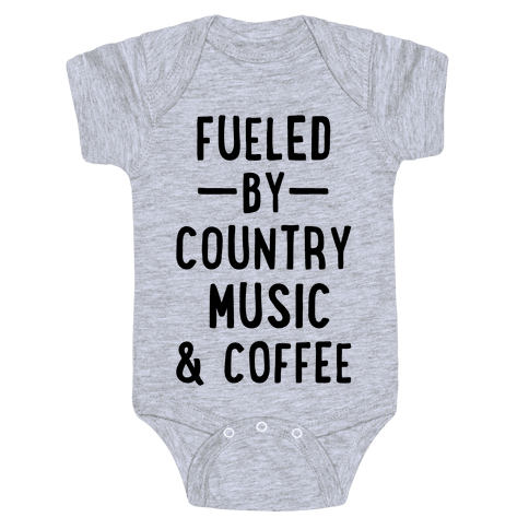 Fueled By Country Baby Onesy