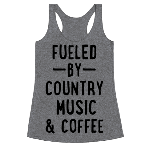 Fueled By Country Racerback Tank Top