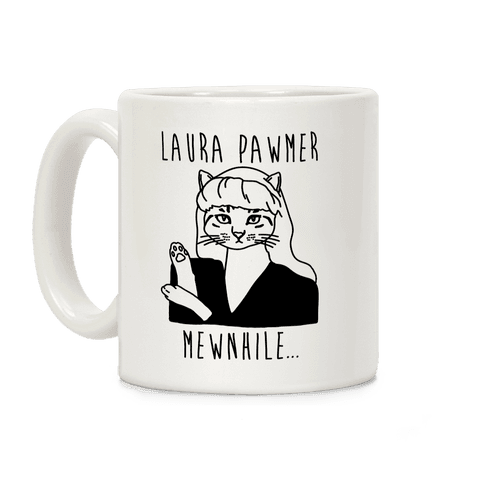 Laura Pawmer Parody Coffee Mug