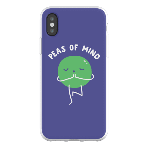 Peas Of Mind Phone Flexi-Case