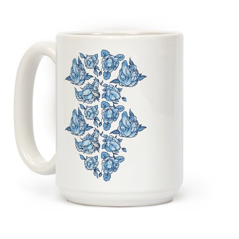 Floral Penis Collage Coffee Mug