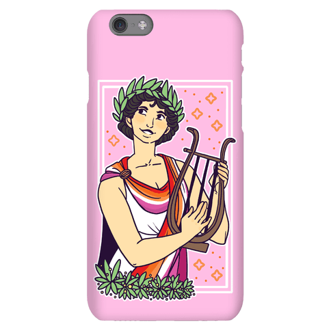 Sappho, Our Lady of Lesbians Phone Case