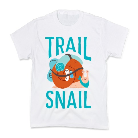 Trail Snail Kids T-Shirt