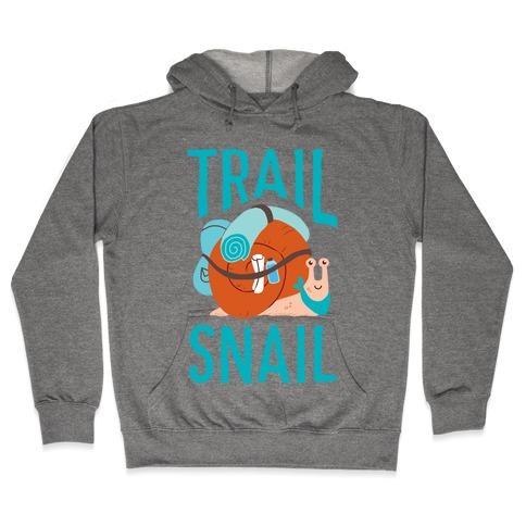 Trail Snail Hooded Sweatshirt