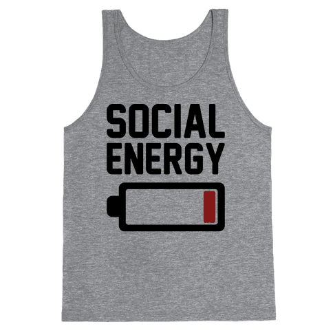 Social Energy Low Tank Top