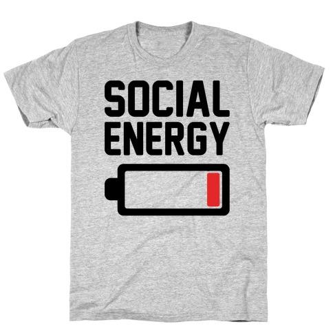 Social Energy Low T-Shirt