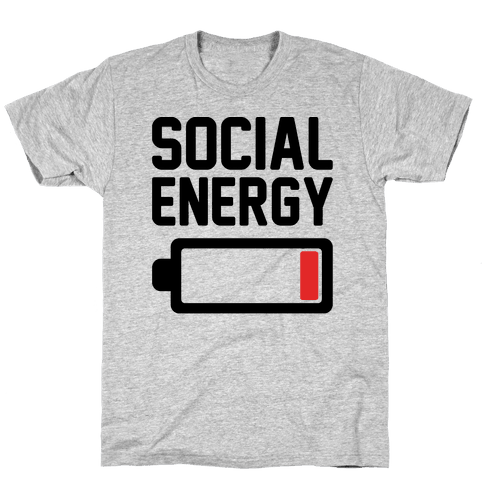 Social Energy Low Mens T-Shirt
