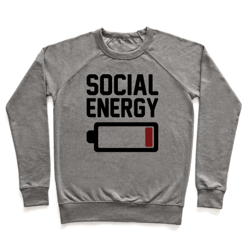 Social Energy Low Pullover