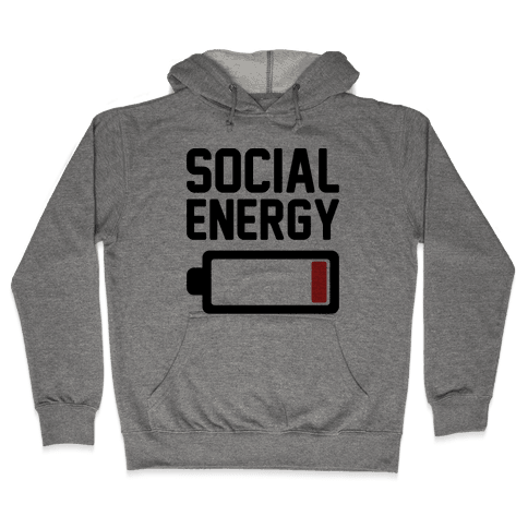 Social Energy Low Hooded Sweatshirt