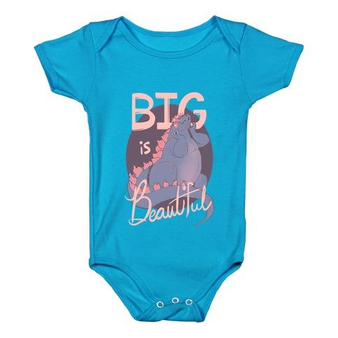 Big is Beautiful Baby Onesy