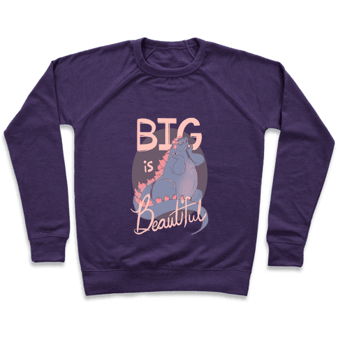 Big is Beautiful Pullover