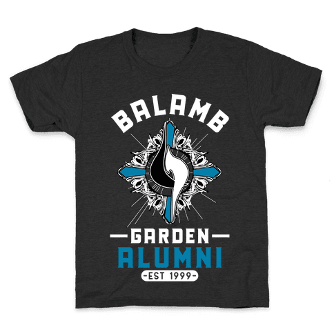 Balamb Garden Alumni Final Fantasy Parody Kids T-Shirt
