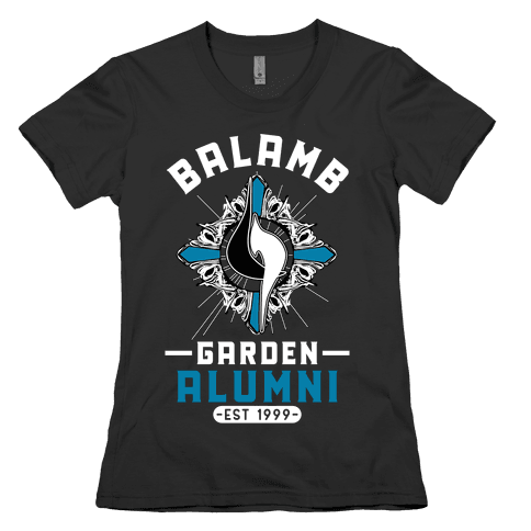 Balamb Garden Alumni Final Fantasy Parody Womens T-Shirt