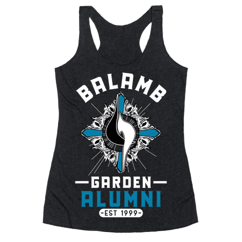 Balamb Garden Alumni Final Fantasy Parody Racerback Tank Top